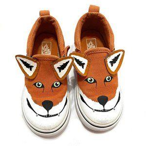 Vans Toddler Asher Fox Slip-On Sneakers